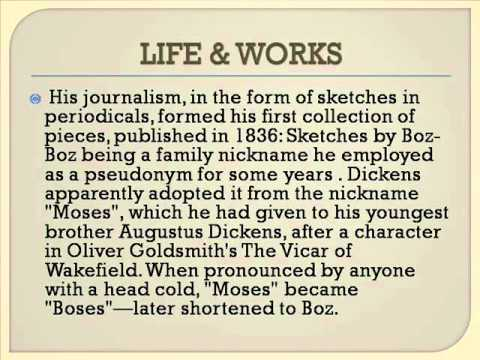 Charles John Huffam Dickens Life & Works