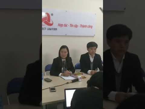 Luật sư trao đổi với báo chí liên quan đên vụ án hiếp dâm bé gái 9 tuổi tại Chương Mỹ - YouTube