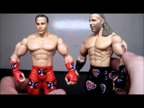 Jakks Paicfic WWE Wrestlemania 14 Recall: Shawn Michaels Figure Review