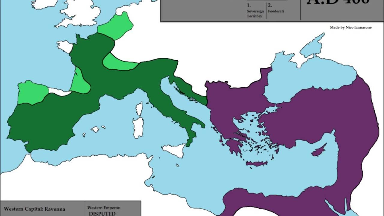 roman empire collaps In 395 diocletian had divided the roman empire into a westernempire and an eastern empire at that time the second of these wasthe more viable part.