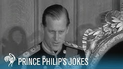 Prince Philip's Jokes: Royal Comedy | British Pathé