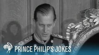 Prince Philip's Jokes: Royal Comedy | British Pathé