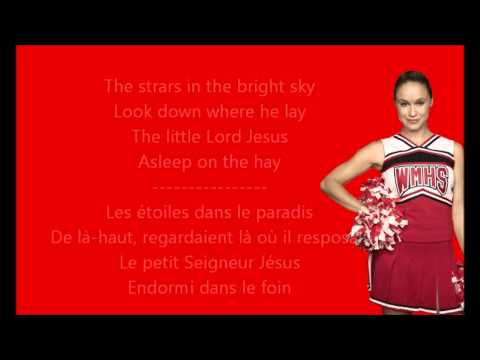 Glee - Away in a manger / Paroles & Traduction