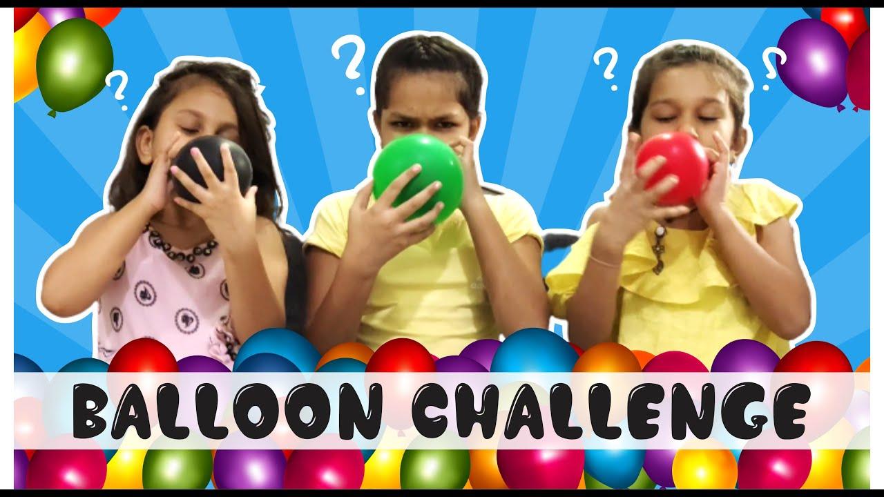 Balloon Challenge Video   Balloon   Balloon Challenge   Funny Challenge   Pari's Lifestyle @sanchi