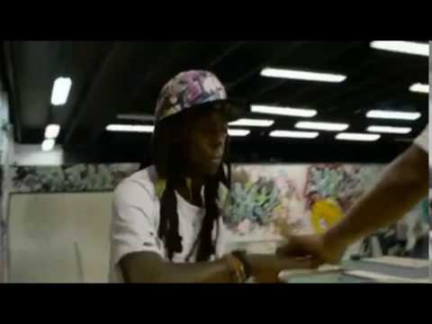 Lil Wayne Skate It Off Behind The Scenes Footage