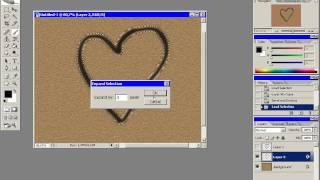 видео Надписи на песке