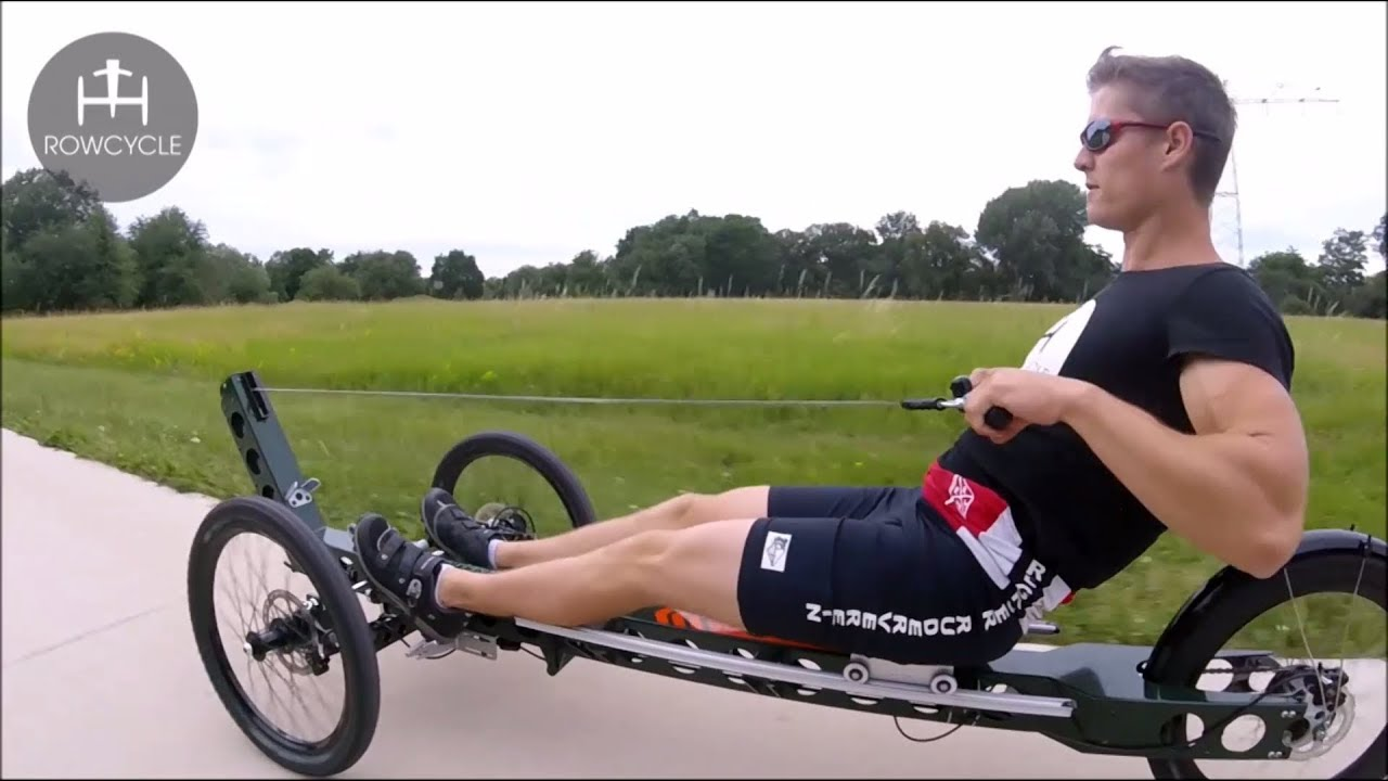 Rowcycle The Innovative Rowing Bike Outdoor Full Body Workout