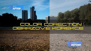 Obrazové korekce | Color corection
