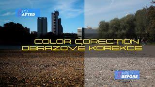 Obrazové korekce | Color corection