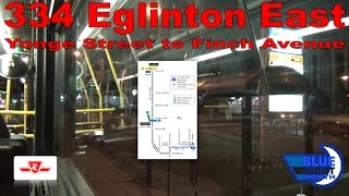 334 eglinton east ttc 2004 orion vii 7511 yonge street to finch avenue