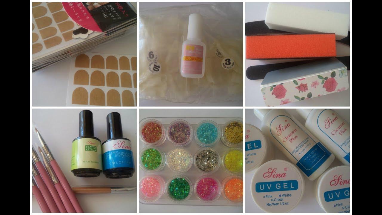 UV Gel Nail Art Professional Kit from BornPrettyStore - YouTube