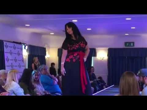 Modelling at midland fashion week 2017