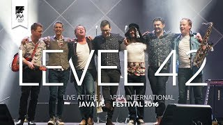 """Level 42 performs """"Something About You"""" live at the Jakarta Interna..."""