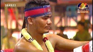 Meun Sophea vs Phetch Chatchai(thai), Khmer Boxing Bayon 04 March 2018, Kun Khmer vs Muay Thai