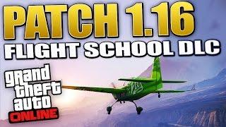 GTA 5 Patch 1.16 - Flight School DLC 4 New Cars (Besra, Invetero, & MORE!) (GTA 5 DLC)