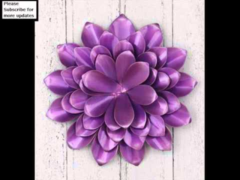 Collecton Of Metal Wall Art Flowers Uk