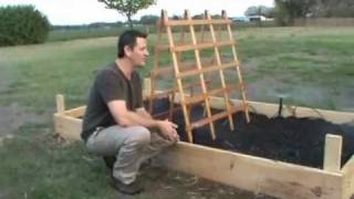 "Vegetable Garden Box Athey Family ""how To's"""