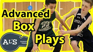 Advanced Box Basketball Plays
