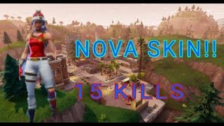 2 victories in a row with the new skin! Fortnite Battle Royale