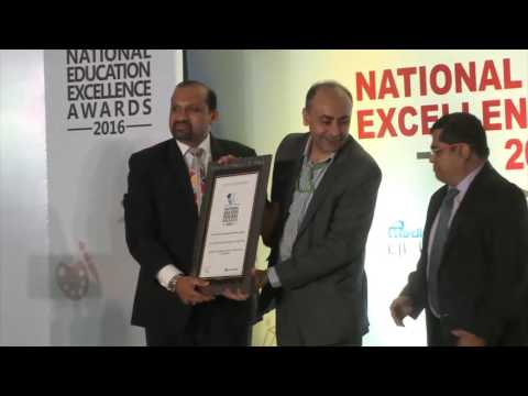 """National Education Excellence Award - 2016"", for Placements."
