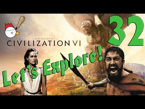 CIVILIZATION VI [ITA] Let's Explore 32# - QUESTA È SPARTAAAAA!
