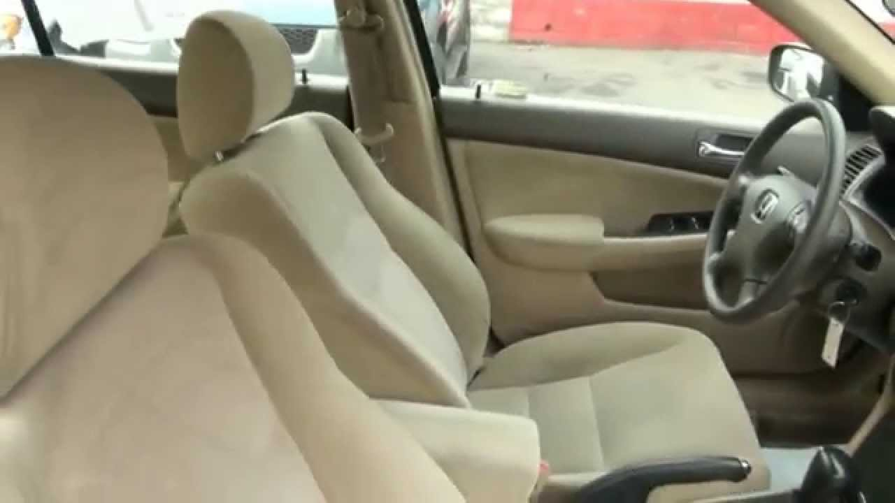 2004 Honda Accord LX Sedan   YouTube