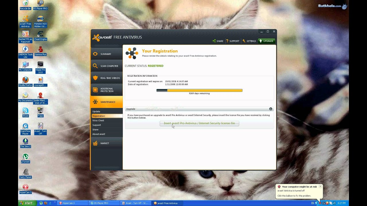 how to make avast antivirus find junk