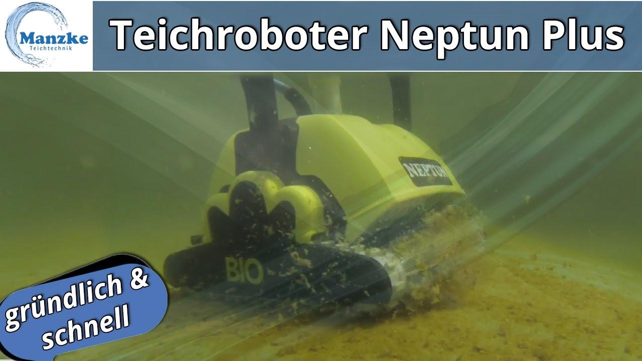 Automatische Teichreinigung Teichroboter Neptun Plus Schwimm