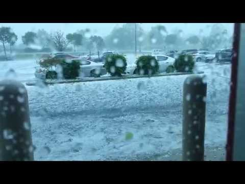Thumbnail: Massive Hailstorm in PA Destroys Cars at Best Buy