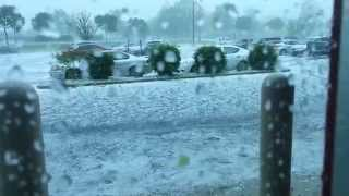 Massive Hailstorm in PA Destroys Cars at Best Buy(Was just inside the store and this huge storm came through. To use this video in a commercial player or in broadcasts, please email licensing@storyful.com ..., 2014-05-22T20:22:56.000Z)