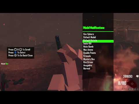 Black Ops 2 How To Get A Zombies Mod Menu (No Computer Or USB)