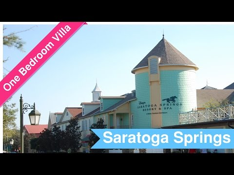 Saratoga Springs - One Bedroom Villa - March 2017 Walkthrough