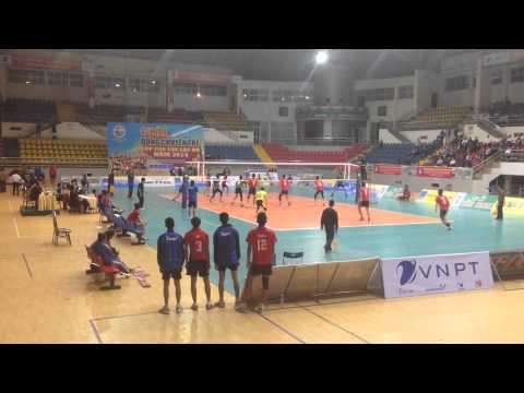 Bóng chuyền trẻ CLB toàn quốc 2014: Biên Phòng - Sanet Khánh Hòa