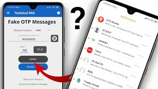 How To Send Fake OTP Messages And Prank Your Friends | Fake OTP Messages Kaise Send Kare