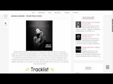 ARIANA GRANDE - YOURS TRULY (2013) (FULL ALBUM) (MEGA)