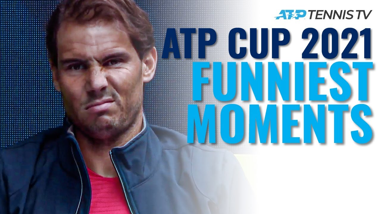 Funniest Moments & Fails: 2021 ATP Cup 😂