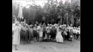 """Праздник в пионерлагере """"Солнечный"""", 1966 год"""