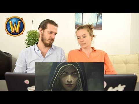World Of Warcraft «Лики войны»: Джайна | Реакция