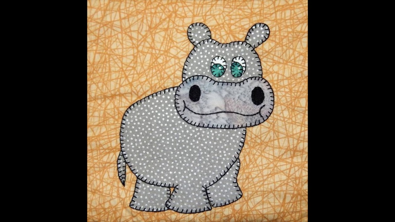 Animal applique patterns for baby quilts ideas youtube