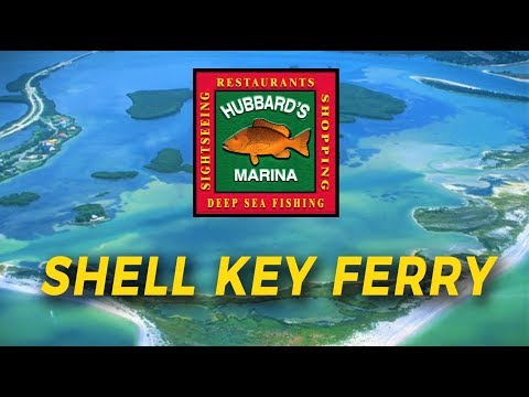 Shell Key Ferry Island Shelling Boat Tour By Tampa Bay Ferry | Http://www.HubbardsMarina.com