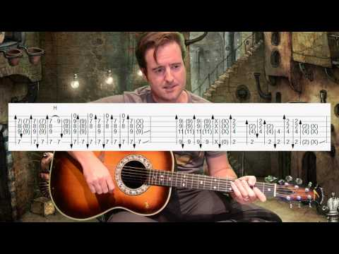 Slow Dancing in a Burning Room  John Mayer  Acoustic Guitar Lesson   Hotel Cafe 1811