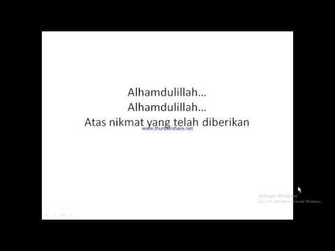Karaoke Lagu Syukur FASI tingkat Propinsi NTB di Mataram