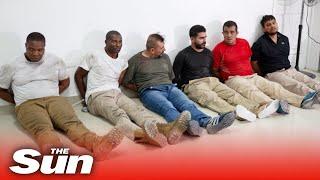 Haitian cops parade 2 US 'mercenaries' arrested over Jovenel Moïse assassination