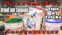 Best Drywall Joint Compound Tips - Save Money And Time!