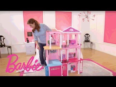 Thumbnail: Barbie® Dreamhouse® Step-by-Step Assembly Video | Barbie