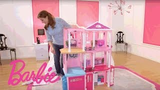 Barbie® Dreamhouse® Step-by-Step Assembly Video | Barbie