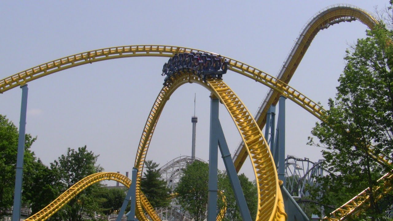 Hersheypark Skyrush Pov Complete Ride Experience Roller Coaster