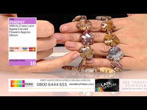 Craft Bag Launch on The Late Show with Vicky Field (JewelleryMaker) LIVE 07/02/2015