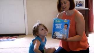 Toddlers Love The Unboxing Surprise From Pampers Easy-Ups