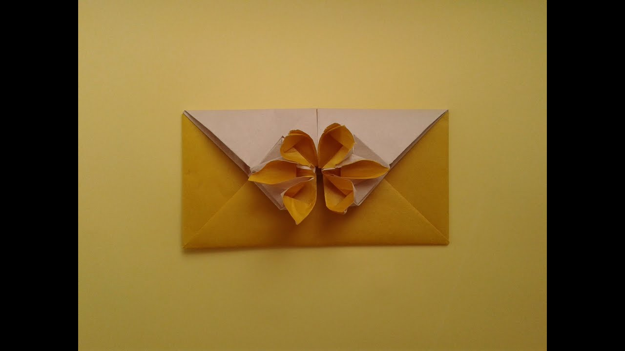 Origami envelope youtube mightylinksfo Choice Image